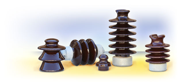 Insulators for overhead lines
